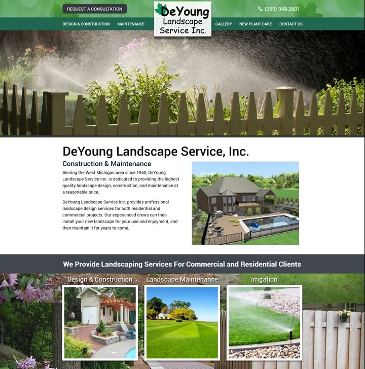 Web Development For Landscape And Lawn Service Businesses In