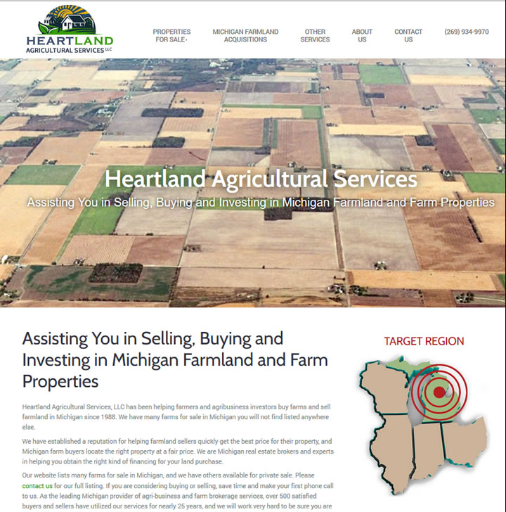 Assistance in buying, investing and selling farmland in michigan.